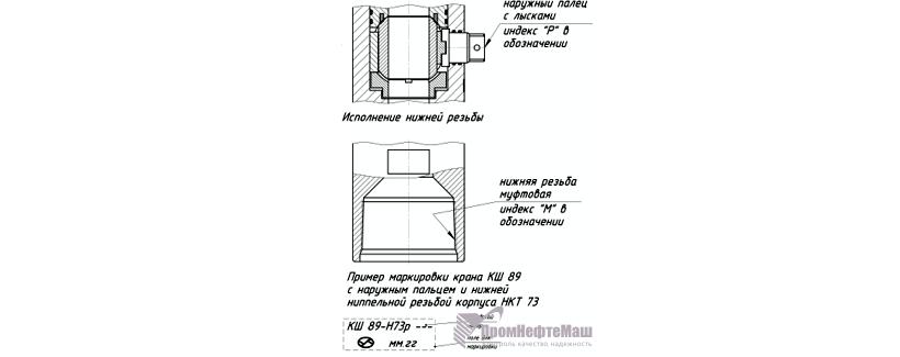 Краны шаровые КШ-140